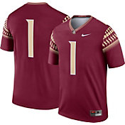 Nike Men's Florida State Seminoles #1 Garnet Dri-FIT Legend Football Jersey