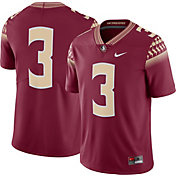 Nike Men's Florida State Seminoles #3 Garnet Limited Football Jersey