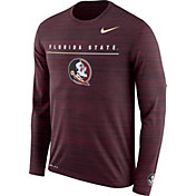 Nike Men's Florida State Seminoles Garnet Velocity Legend Graphic Long Sleeve T-Shirt