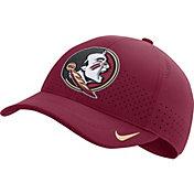 Nike Men's Florida State Seminoles Garnet Aerobill Classic99 Football Sideline Hat
