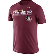 Nike Men's Florida State Seminoles Garnet Legend Football Sideline T-Shirt