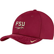 Nike Men's Florida State Seminoles Garnet Aerobill Swoosh Flex Classic99 Football Sideline Hat