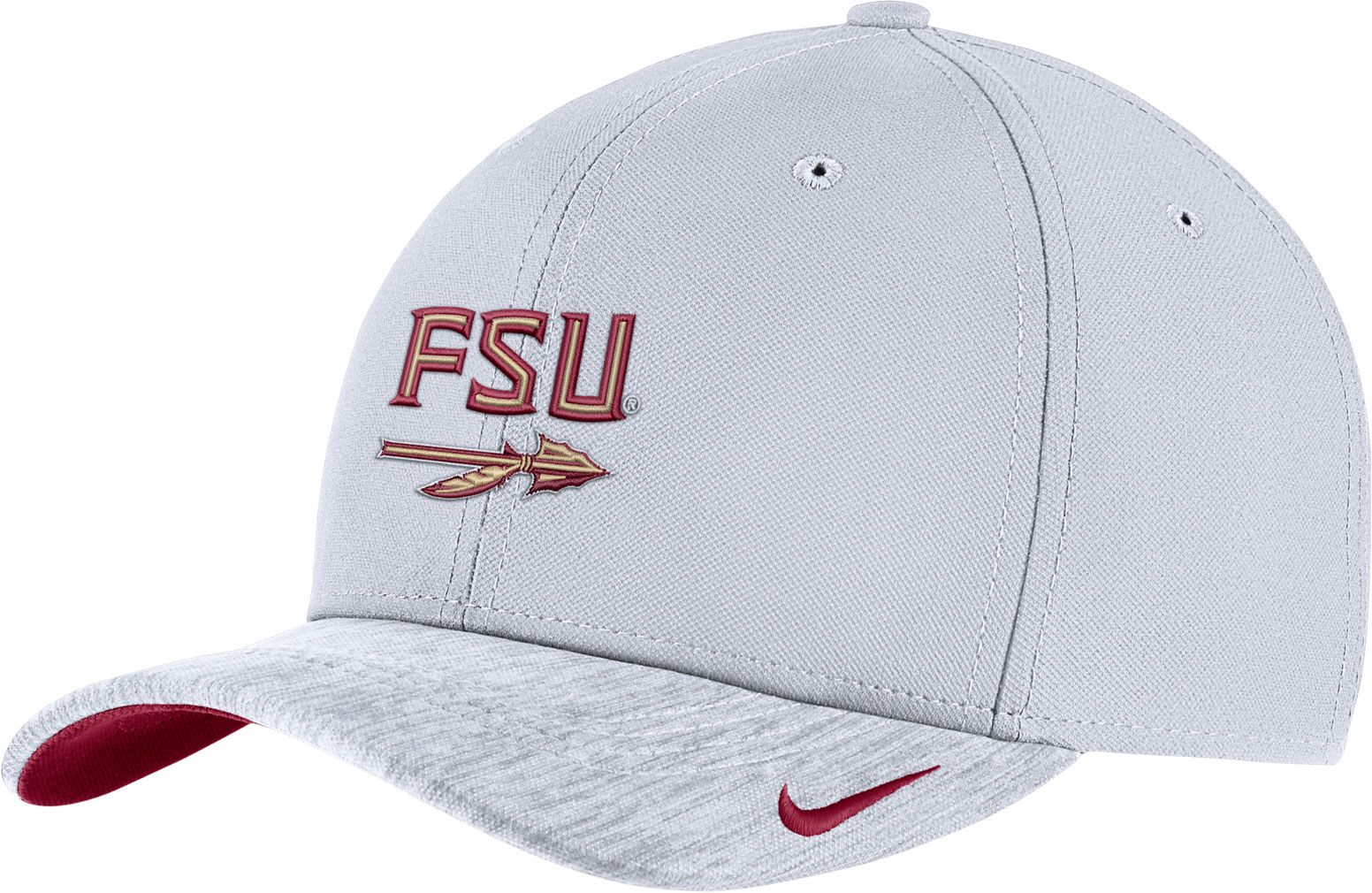 uk availability 0be8f 0ae90 ... new zealand promo code for nike mens florida state seminoles white  aerobill swoosh flex classic99 football