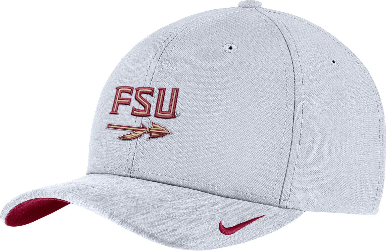 super popular 50061 f81ae ... adjustable hat 14022 31fff  new zealand promo code for nike mens  florida state seminoles white aerobill swoosh flex classic99 football