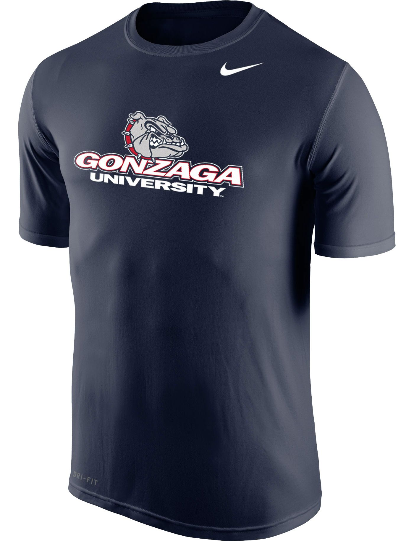 Nike Men's Gonzaga Bulldogs Blue Logo Legend T-Shirt