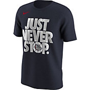 Nike Men's Gonzaga Bulldogs Blue 'Just Never Stop' Selection T-Shirt