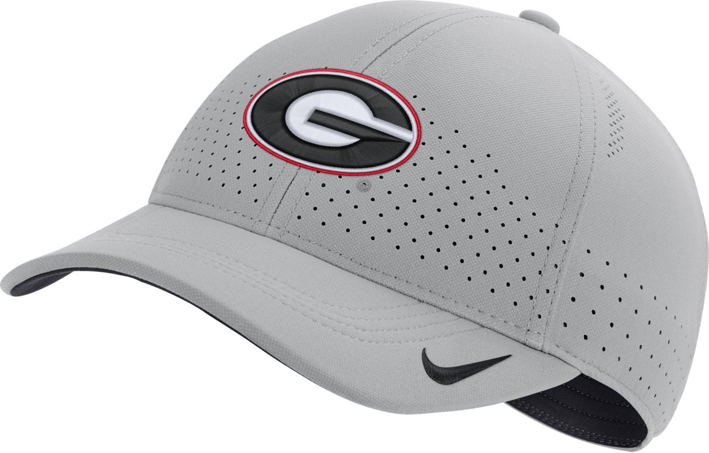 Nike Men's Georgia Bulldogs Grey Legacy91 Adjustable Hat