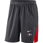Nike Men's Georgia Bulldogs Grey Franchise Shorts
