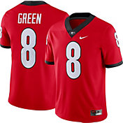 Nike Men's AJ Green Georgia Bulldogs #8 Red Dri-FIT Game Football Jersey