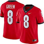 Nike Men's AJ Green Georgia Bulldogs #8 Red Dri-FIT Game Football Jersey