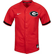 Nike Men's Georgia Bulldogs Red Dri-FIT Replica Baseball Jersey