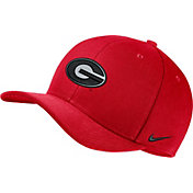 Nike Men's Georgia Bulldogs Red Classic99 Swoosh Flex Hat