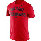 Nike Men's Georgia Bulldogs Red Dri-FIT Phrase T-Shirt
