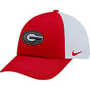 Nike Men's Georgia Bulldogs Red Heritage86 Adjustable Trucker Hat