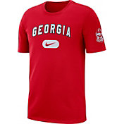 Nike Men's Georgia Bulldogs Red Elevate T-Shirt