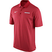 Nike Men's Georgia Bulldogs Red Stadium Performance Football Polo