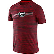 Nike Men's Georgia Bulldogs Red Velocity Legend Graphic T-Shirt