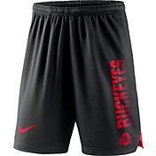 Nike Men's Ohio State Buckeyes Breathe Player Black Shorts