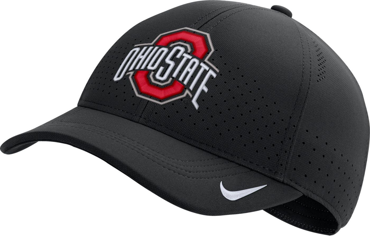 Nike Men's Ohio State Buckeyes Aerobill Classic99 Football Sideline Black Hat