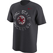 Nike Men's Ohio State Buckeyes Gray Camo Football T-Shirt