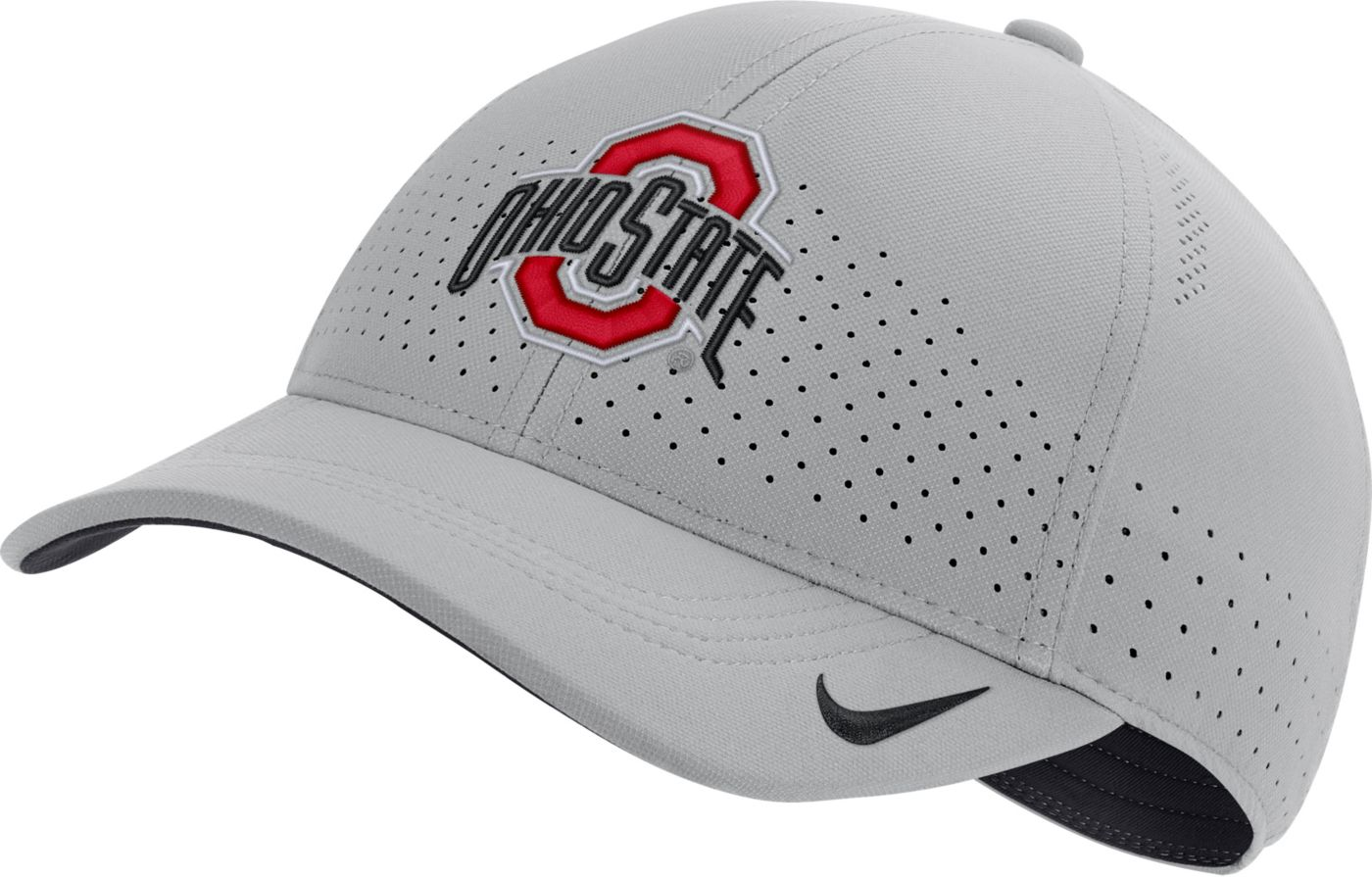 Nike Men's Ohio State Buckeyes Gray Legacy91 Adjustable Hat