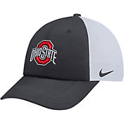 Nike Men's Ohio State Buckeyes Anthracite Heritage86 Adjustable Trucker Hat