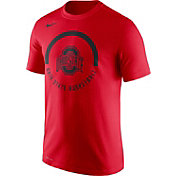 Nike Men's Ohio State Buckeyes Scarlet Basketball Verbiage Dri-FIT T-Shirt