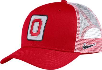 Nike Men s Ohio State Buckeyes Scarlet Classic99 Trucker Hat. noImageFound 74087e77f0d