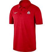 Nike Men's Ohio State Buckeyes Scarlet Dri-FIT Breathe Polo