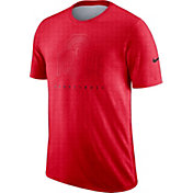 Nike Men's Ohio State Buckeyes Scarlet Player Dri-FIT Basketball T-Shirt