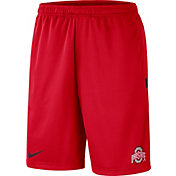 Nike Men's Ohio State Buckeyes Scarlet Dri-FIT Coach Shorts