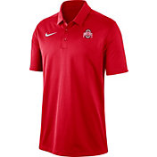 Nike Men's Ohio State Buckeyes Scarlet Dri-FIT Franchise Polo