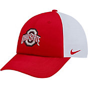 Nike Men's Ohio State Buckeyes Scarlet Heritage86 Adjustable Trucker Hat