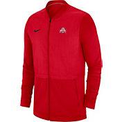 Nike Men's Syracuse Orange Blue Elite Hybrid Football Full-Zip Jacket