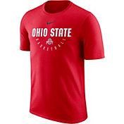 Nike Men's Ohio State Buckeyes Scarlet Key Basketball Legend T-Shirt