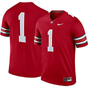 Nike Men's Ohio State Buckeyes #1 Scarlet Legend Football Jersey