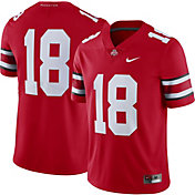 Nike Men's Ohio State Buckeyes #18 Scarlet Limited Football Jersey