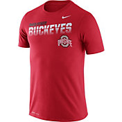 Nike Men's Ohio State Buckeyes Scarlet Legend Football Sideline T-Shirt