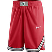 Nike Men's Ohio State Buckeyes Scarlet Authentic On-Court Performance Basketball Shorts