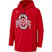 Nike Men's Ohio State Buckeyes Scarlet Therma-FIT Pullover Hoodie