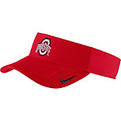Nike Men's Ohio State Buckeyes Scarlet Aerobill Football Sideline Visor