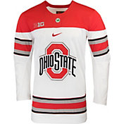 Nike Men's Ohio State Buckeyes Replica Hockey White Jersey