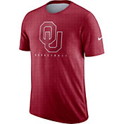 Nike Men's Oklahoma Sooners Crimson Player Dri-FIT Basketball T-Shirt