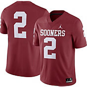 Jordan Men's Oklahoma Sooners #2 Crimson Dri-FIT Game Football Jersey