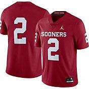 Jordan Men's Oklahoma Sooners #2 Crimson Dri-FIT Limited Football Jersey