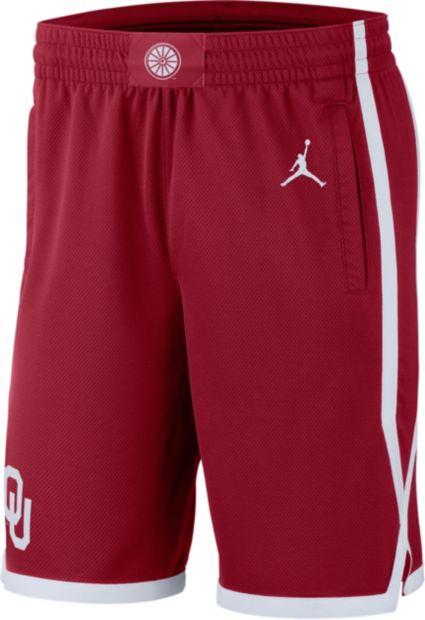 Jordan Men s Oklahoma Sooners Crimson Replica Basketball Shorts.  noImageFound e932a2111ac2
