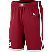 Jordan Men's Oklahoma Sooners Crimson Replica Basketball Shorts
