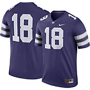 Nike Men's Kansas State Wildcats #18 Purple Legend Football Jersey