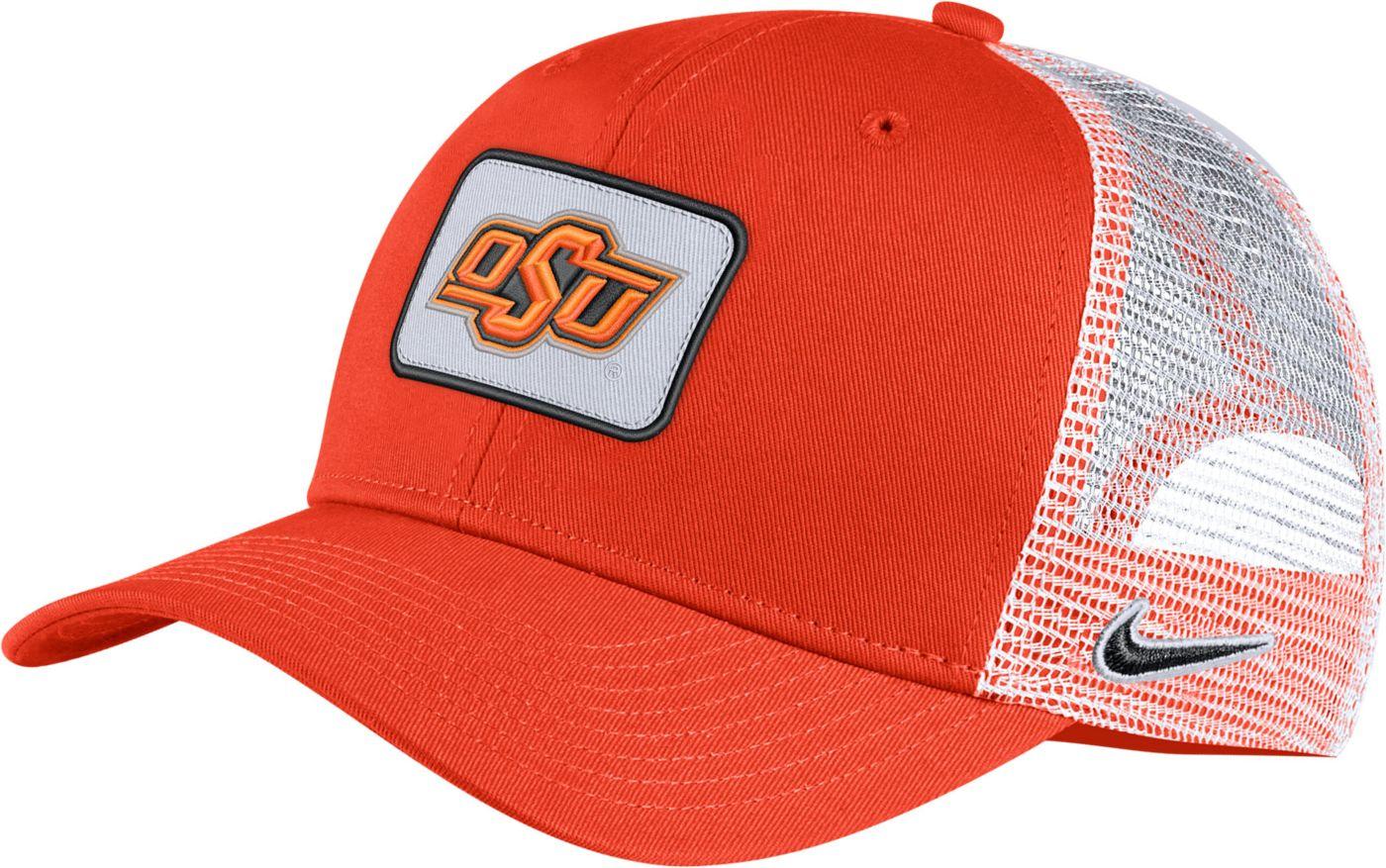 Nike Men's Oklahoma State Cowboys Orange Classic99 Trucker Hat
