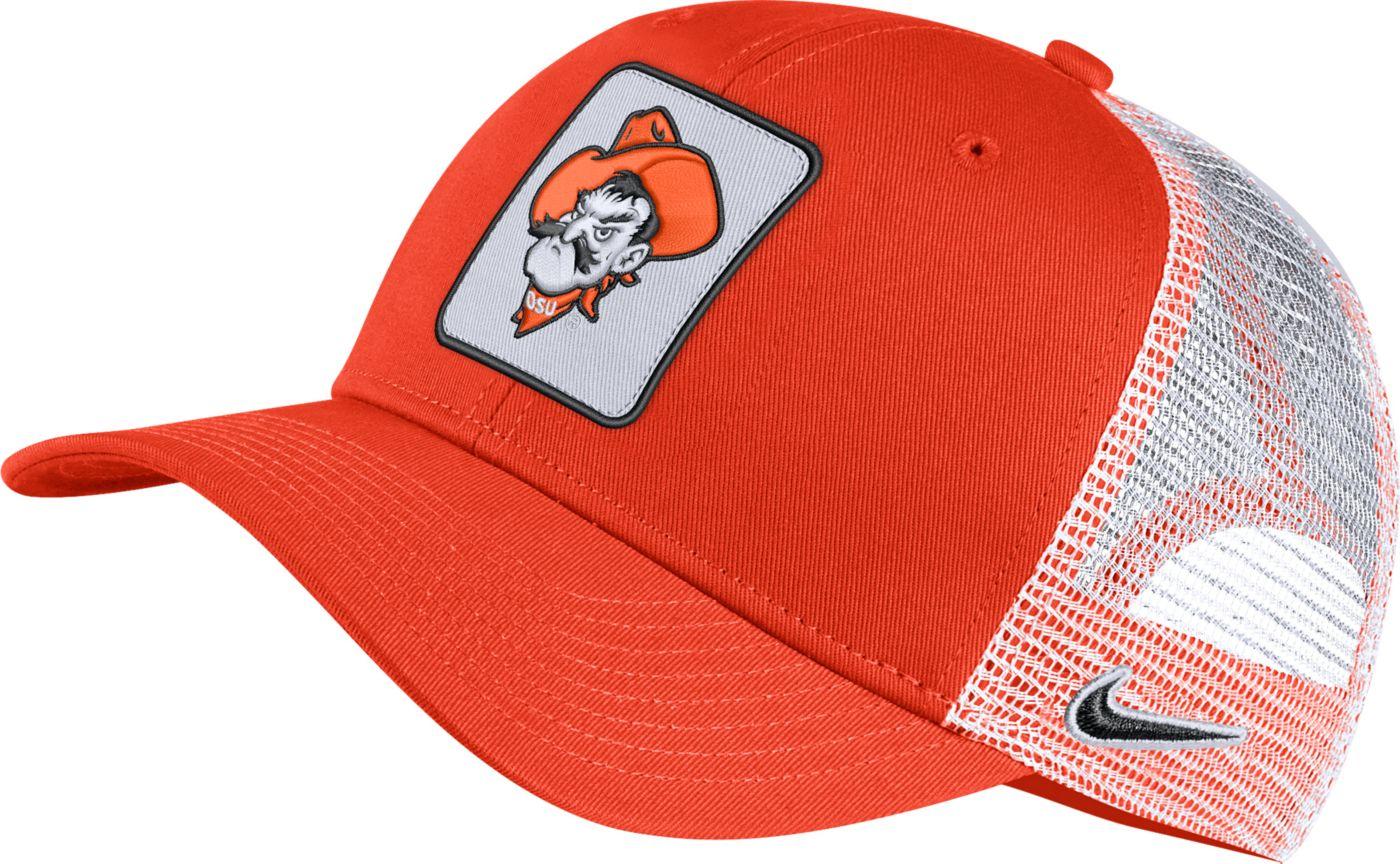Nike Men's Oklahoma State Cowboys Orange Retro Classic99 Trucker Hat